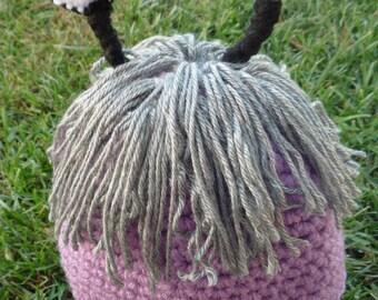 Crochet Monster Hat all sizes boo