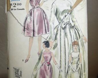 "1960's Vogue ""Special Design"" #4285 Pattern- Bride/Bridesmaid's Dress- (1960's - Size 14) -  26 Inch Waist - 34 Inch Bust"