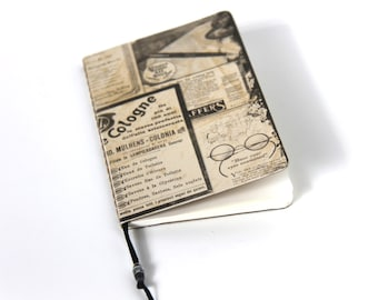 Mini Notebook Journal Sketchbook Upcycled Mini Journal