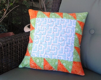 Ant Maze Pillow Cover