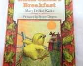 "Vintage Children's Book ""Little Chick's Breakfast"" Weekly Reader @LootByLouise"