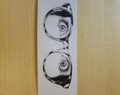 I Am Watching You Sticker, 100% Waterproof Vinyl Sticker, Pop Culture Sticker, 3M Sticker