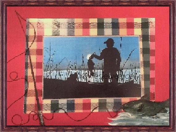Fishing Art Print A Good Day At the Lake