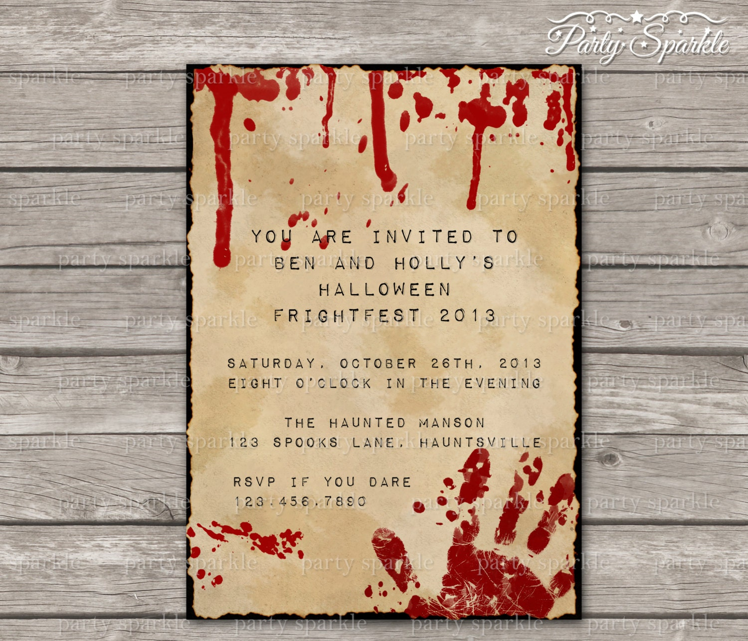 Halloween Party Invitation Text as nice invitation template