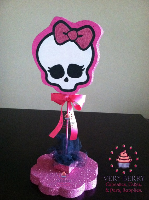 Items similar to monster high glitter centerpieces with
