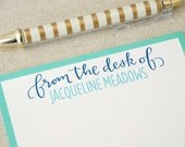 Personalized Stationery Set / Personalized Notecard/ Gift for Her