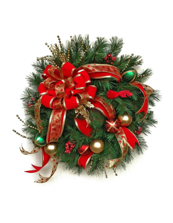Christmas Wreath Outdoor Christmas Decor Outdoor Christmas