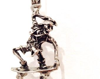 Dead Skater Gunmetal Necklace