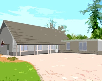 Container House Plans 3 Bed 2 1/2 Bath - Schematic Design 1815 sf