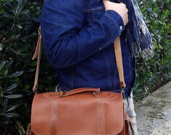 Men Messenger Bag - Woman messenger bag - 13 inch Laptop Bag - Laptop Bag - Shoulder Bag - Mens briefcase -