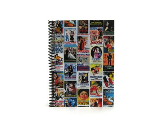 SALE - Italian Movies Posters - Cute Spiral Notebook - 5x7in