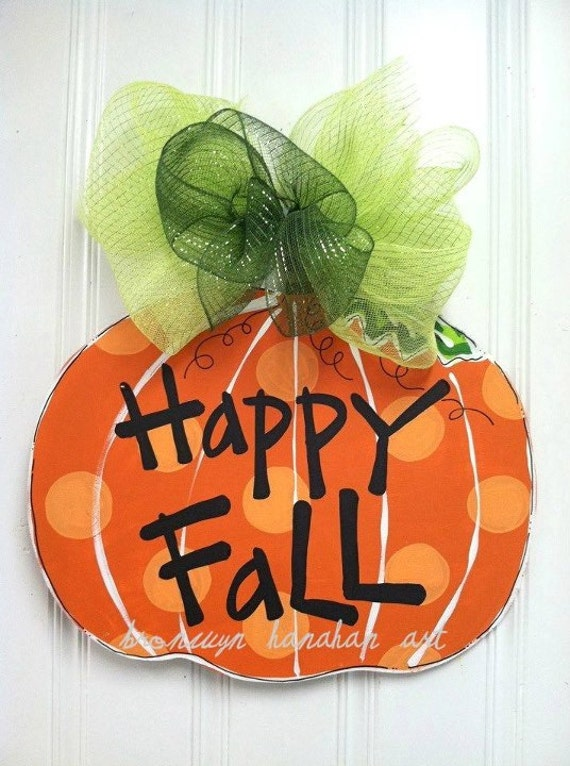 The Great Pumpkin Door Hanger - Bronwyn Hanahan Original