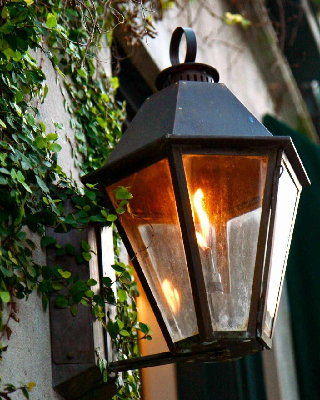 Charleston Photography Southern Home Decor Gas Lamp