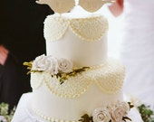 We Do Bird Wedding Cake Toppers - small size