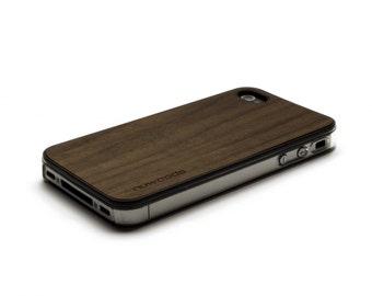 iPhone 4 Case Wood Walnut, Wood iPhone 4S Case Wood iPhone 4 Case, iPhone 4 Wood Case, iPhone 4S Wood Case, iPhone Case