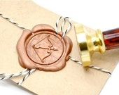 B20 Wax Seal Stamp Arrow Bow Archery