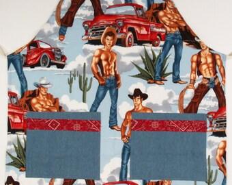 Cool Cowboy apron