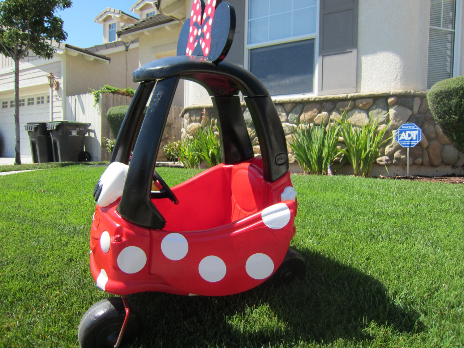 Minnie Mouse Car Cozy Coupe Kit Vinyl Sticker And By