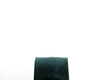 Manfield, vintage Dark blue tie