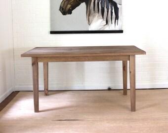Farmhouse Desk, Reclaimed Solid Wood Farmhouse Desk