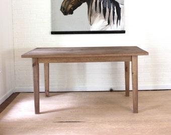 Desk, Reclaimed Solid Wood Farmhouse Desk