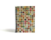 Letters in Dots - Notebook Spiral Bound - 4x6in