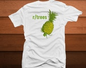 Pineapple Reddit r/trees Fitted or Unisex T Shirt