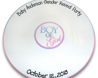 Gender Reveal Party Signature Platter