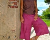 The Cropped Prana Pant in Organic Hemp Cotton. Made to order.