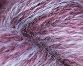 Handspun Yarn - Purple Grapevine 2.7 oz 132 yards Worsted Weight Wool
