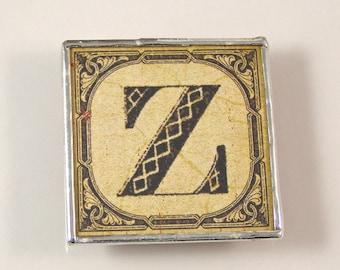 Letter Z Initial Magnet