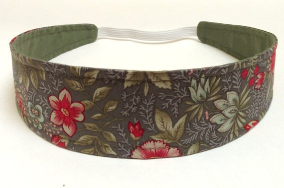 NEW  -  Reversible Fabric  Headband   -  DEBRA   Headbands for Women