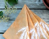 palm fronds lunch napkins. made to order