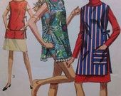 Vintage 1960's Apron and/or Beach Cover-Up Pattern ca. 1967