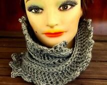 Crochet Pattern, Crochet Scarf Pattern, Crochet Infinity Scarf Pattern, Crochet Cowl Pattern, LAUREN Mobius Crochet Pattern