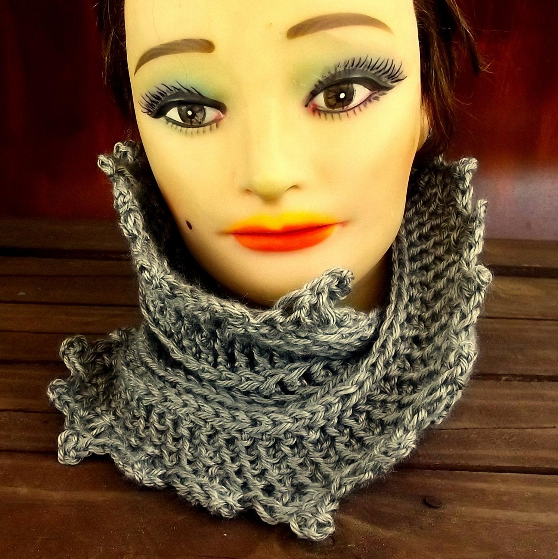 LAUREN Crochet Infinity Cowl Scarf