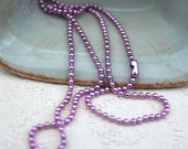 Purple ball chain 18 inches