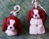 Cavalier King Charles Spaniel Stitch Markers (set of 4)