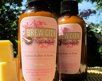Cocoa Butter and Rose Skin Lotion