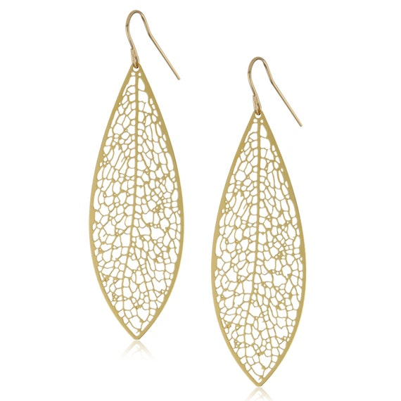 Reticulate Earrings (gold)