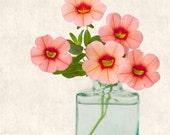 Botanical Art Print, Flower Photograph, Botanical Print, Flower Print, Flower Wall Decor, Nature Photography