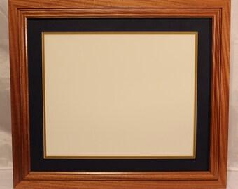Diploma Frame made of Solid Mahogany, handmade