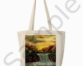 Customizable Art Print by Ave Hurley on 2 sided Canvas Tote FREE Shipping