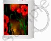 11 oz Customizable Artist Mug Choice of Art work by Art Rave