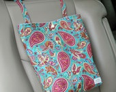 Paisley - Auto Trash Bag from green by mamamade
