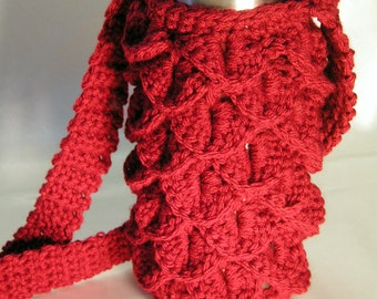 Pattern: Cup and Water Bottle Scaly Cozy