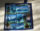 Potholder - Nature Print - Animals - for the Guy
