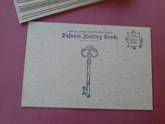 "Chipboard Postcard blanks - set of 20 - 4"" x 6"""