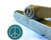Peace Sign - Metal Stamping Punch Tool