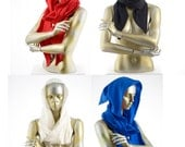 Flame Retardant Scoodie, hooded scarf with point